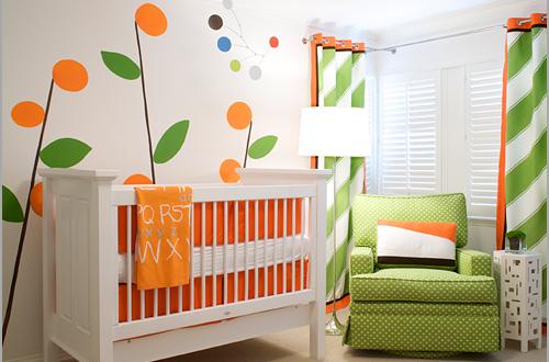 Ferah ve Doğal bebek odası fikirleri