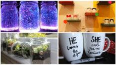 En Çılgın Hobi Tutkunları İçin 12 Adet Kolay ve Zekice Hazırlanmış DIY Çalışması