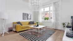 35 Şık ve Aydınlık İskandinav Salon Tasarımı