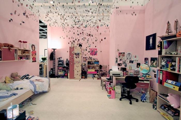 Diy yurt dekor fikirleri diy yurt dekor projeleri ev - How to decorate living room cheap ...