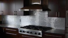 Mutfak Tezgahınızın Arka Kısmı İçin Paslanmaz Çelik Çözümü