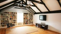 Tavan Arasındaki Salonunuz İçin 15 Kullanışlı Çözüm