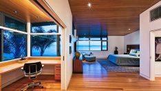 Stil ve Pratikliğe Sahip 25 Yaratıcı Yatak Odası-Çalışma Alanı Fikri