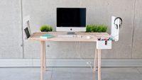 Çalışma Alanınızın Büyük Kısmını Bir Çalışma Masası İle Oluşturun – Alandan Tasarruf Edeceğiniz 20 Yaratıcı Fikir