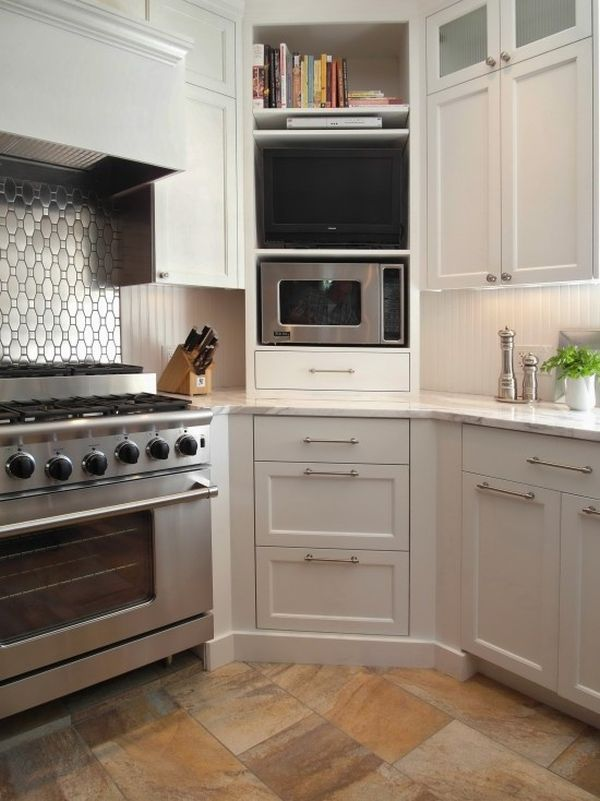 Cabinet Design Ideas for Kitchen Corners and Practical Uses