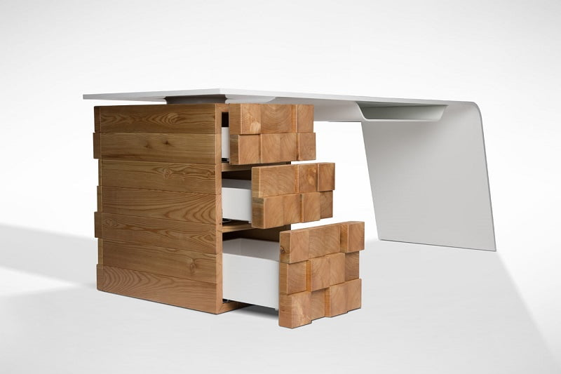 This Advanced Technology Desk Combined with Embedded Technology Will Charge Your Phone