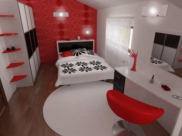 kirmizi-siyak-ve-beyaz-ile-yatak-odasi-tasarimi