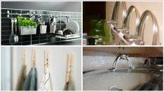 Mutfağınızı Düzenlemek ve Depolamak için 65 Yaratıcı Fikir