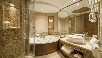 14 Lüks, Küçük Ama Kullanışlı Banyo Tasarım Fikri