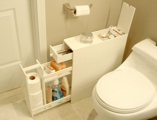 10 Ways to Create Extra Space in Your Small Bathroom