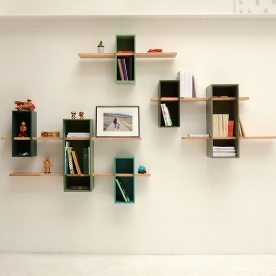 max raflar eski tip kitapl klar n yeniden yorumlanmas ev d zenleme. Black Bedroom Furniture Sets. Home Design Ideas