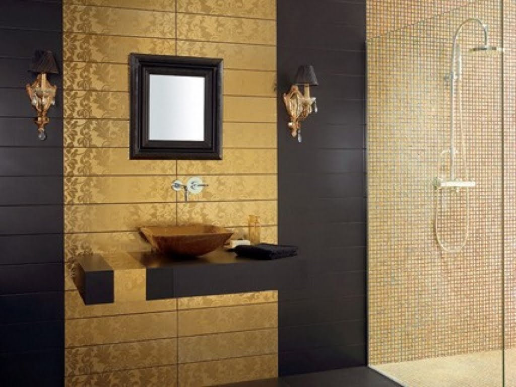 Wall Tiles Design For Home : Banyonuz ?in harika fayans tasar m ve fikri ev