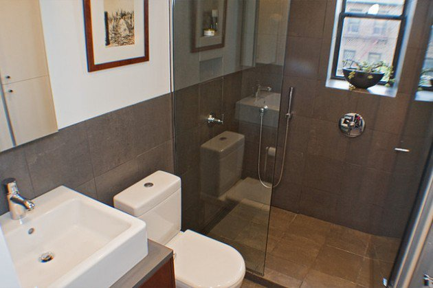 K k ve kullan l banyolar i in 27 tasar m fikri ev for Small bathroom design 5 x 8