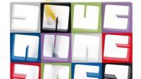 Çok Yönlü, Çekici Renklerde Modüler Kitaplık -B-Line'dan Quby
