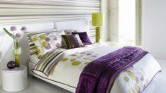 Yatak Başınızın Arkasındaki Duvarı Çizgilerle Dekore Etmenin 20 Farklı Yolu