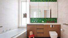 Yeşilin Dokunuşuyla 20 Yenileyici Banyo Tasarımı