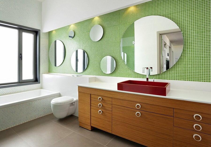 yesil-banyo-dekorasyon-fikirleri