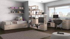 Çocuğunuzun Büyüyebileceği Bir Alan: Doğal ve Şık Genç Yatak Odaları