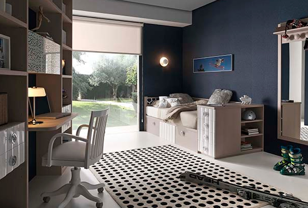 Doğal ve Şık Genç Yatak Odaları-3