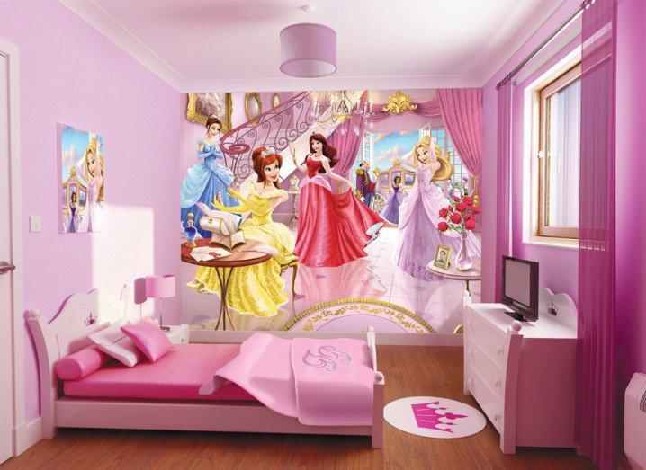 Prenses Temalı Yatak Odası Fikirler-10