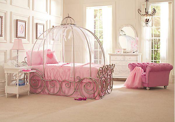 Prenses Temalı Yatak Odası Fikirler-12