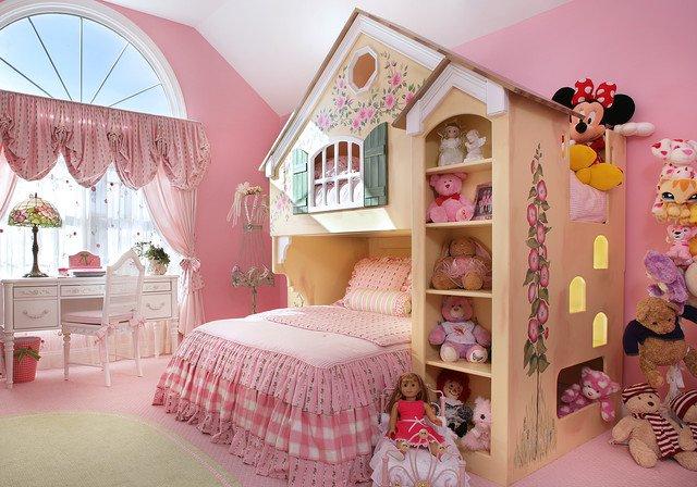 Prenses Temalı Yatak Odası Fikirler-2