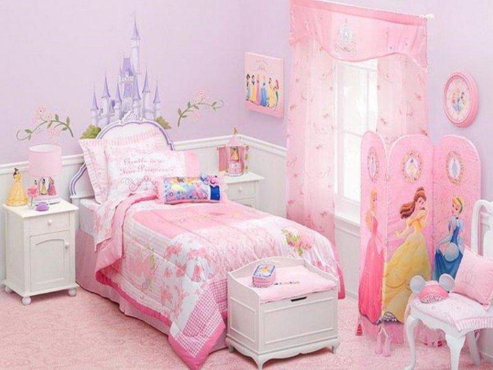 Prenses Temalı Yatak Odası Fikirler-9