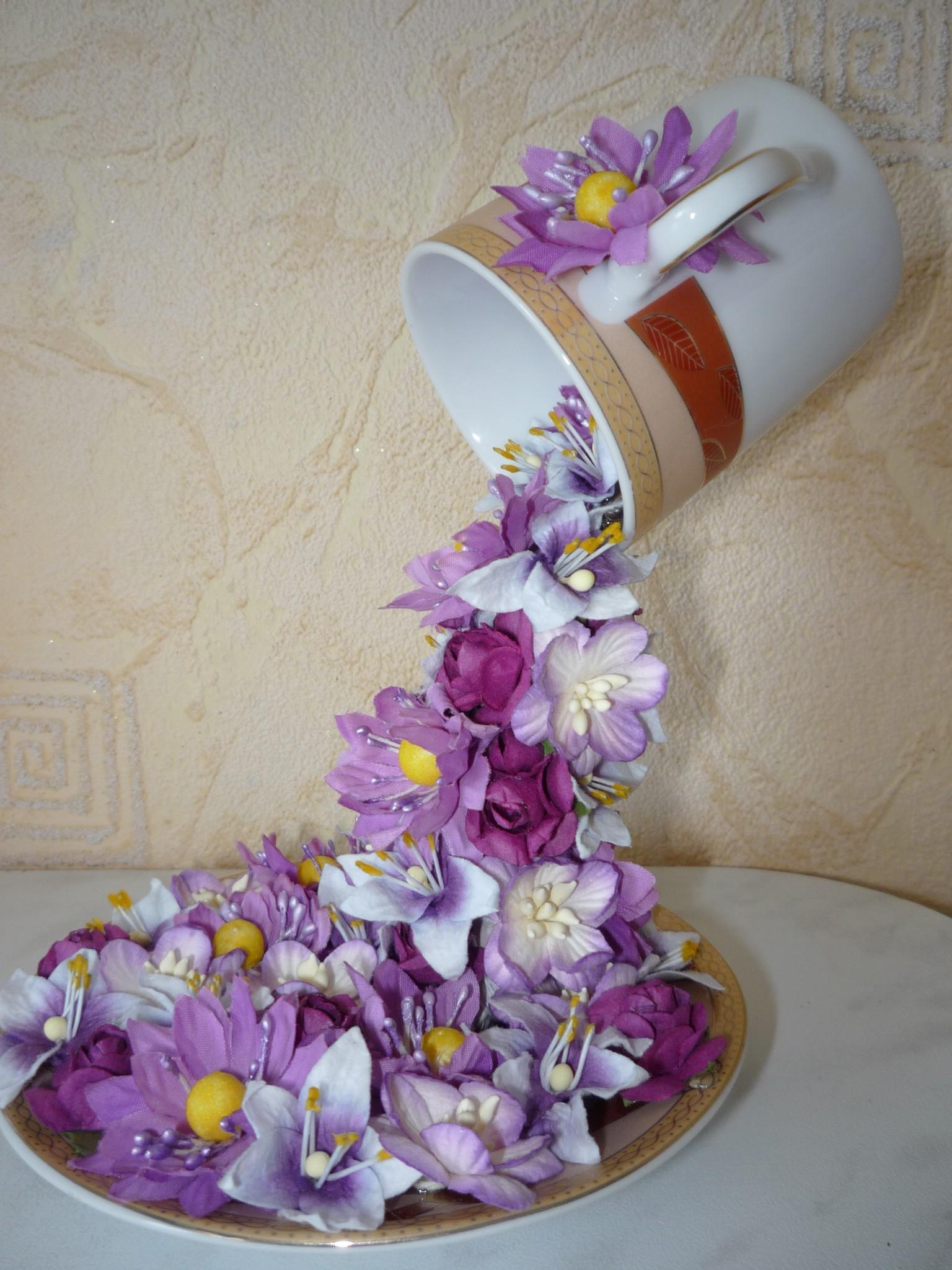 Çiçek Topiary Uçan Kupası-1