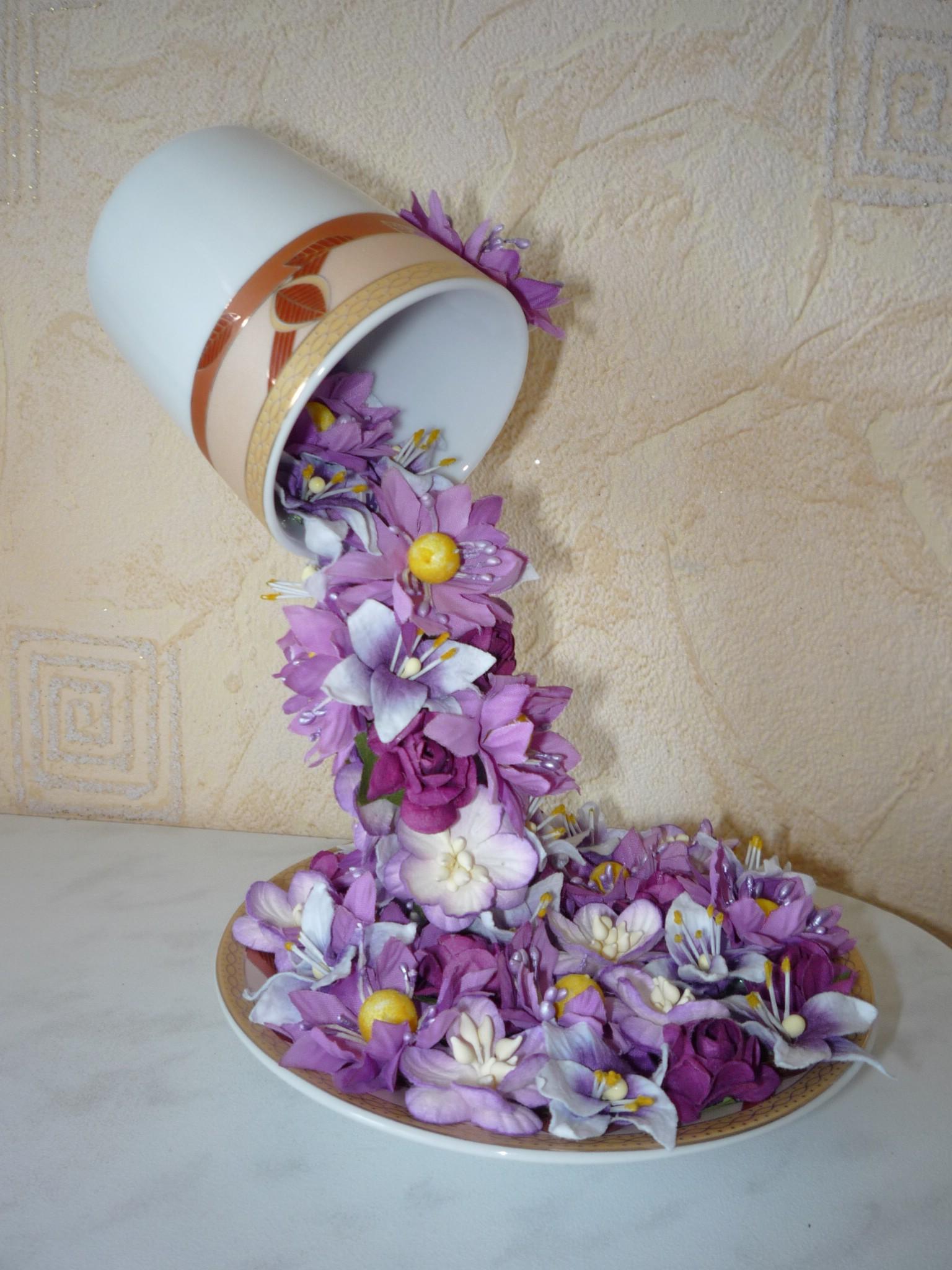 Çiçek Topiary Uçan Kupası-10