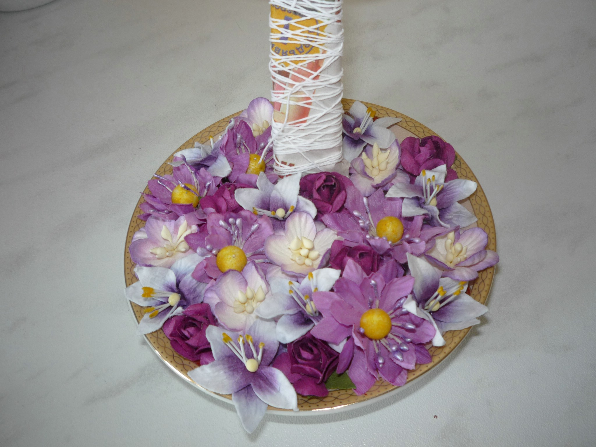 Flower Flying Cup Making (Do It Yourself Project)