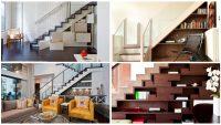 10 Modern Merdiven Altı Depolama Çözümü