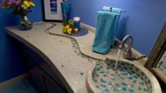 20 İlginç ve Modern Banyo Lavabosu