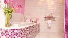 Sevimli Pembe Banyo Tasarımları
