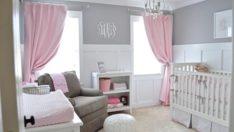 Bebeğinizi İlk Günden Stil Sahibi Yapın- 30 Sevimli Kız Bebek Odası Tasarımı
