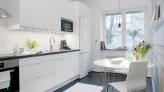 Şık Bir Yemek Alanı Oluşturabilmek İçin 25 İskandinav Mutfak Tasarımı
