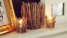 Kendin-Yap Projesi: Dal Parçalarıyla Mumluk Yapımı
