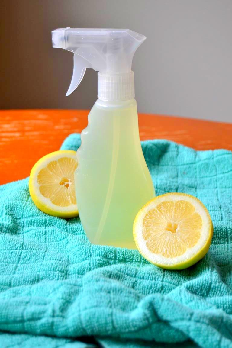 Doğal Limon ve Kekikle Mutfak Temizleyicisi Yapımı-1