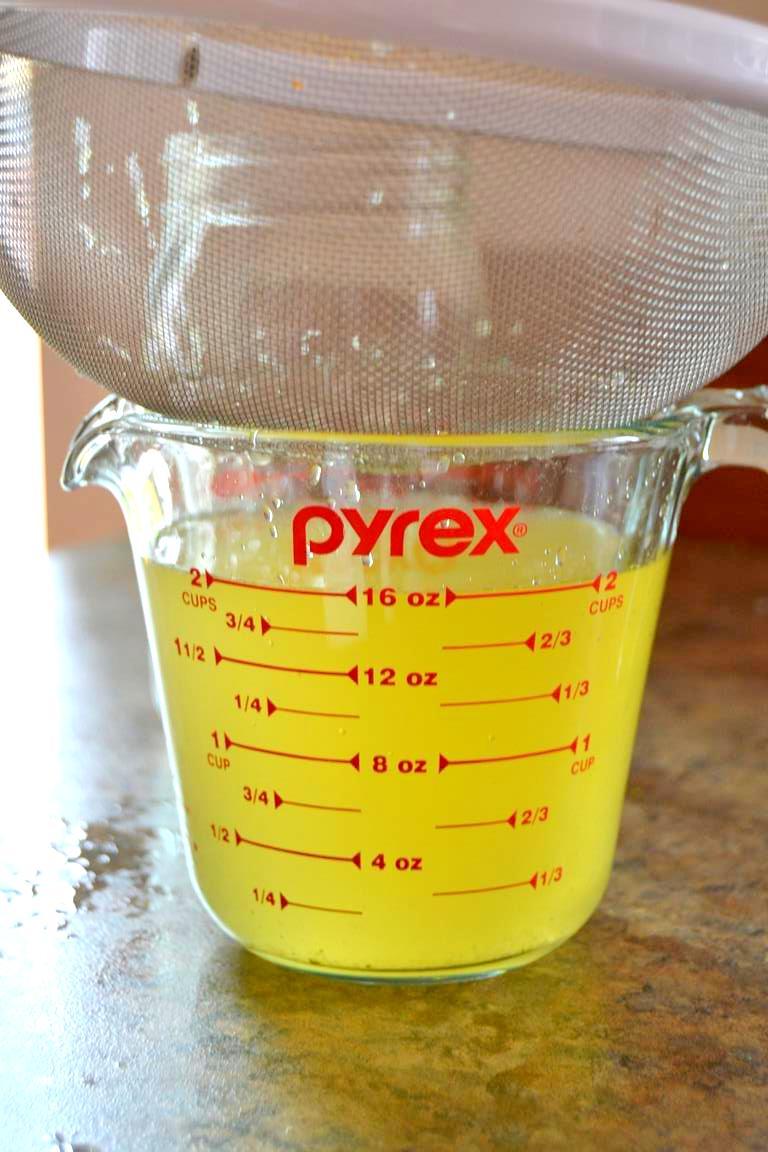 Doğal Limon ve Kekikle Mutfak Temizleyicisi Yapımı-5