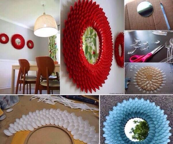 Plastik kaşık DIY projeler-5