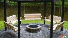 Çok Farklı Bir Çardak Tasarımı! Bahçenizdeki Vakitlerinizi Mükemmel Kılın