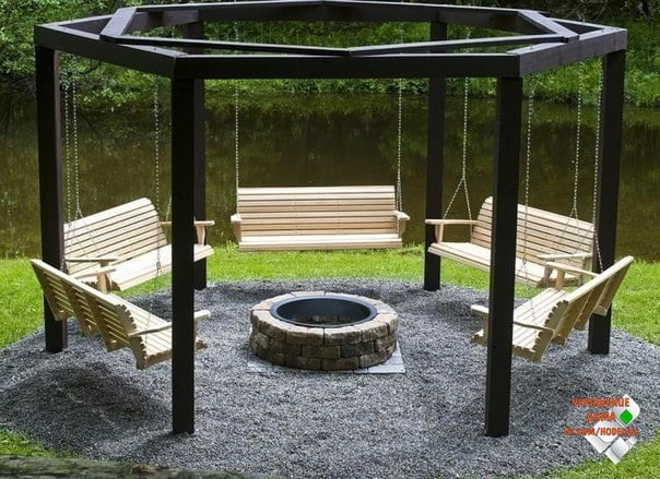 A very different Arbor Design! Make your garden time perfect