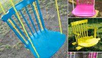 Bahçeleriniz İçin Eğlenceli Salıncak Fikirleri