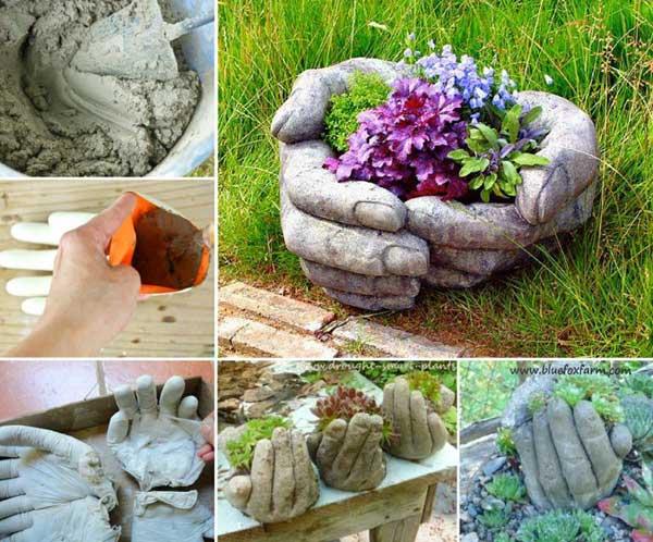 Gartendeko selbstgemacht basteln