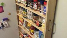 Buzdolabının Yanıdaki Odacığı Değerlendirmenin Kullanışlı Yolu