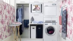 Şık ve Serin Çamaşır Odası Fikirleri