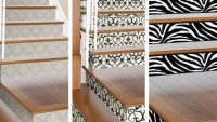 Dublex Daireler için Birbirinden Güzel Merdiven Süslemeleri