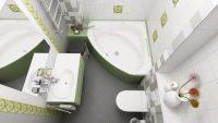 Çok iyi Organize Edilmiş Küçük Banyolar