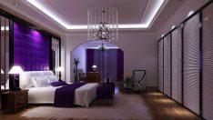 Yatak Odalarına Mor Dokunuşlar!