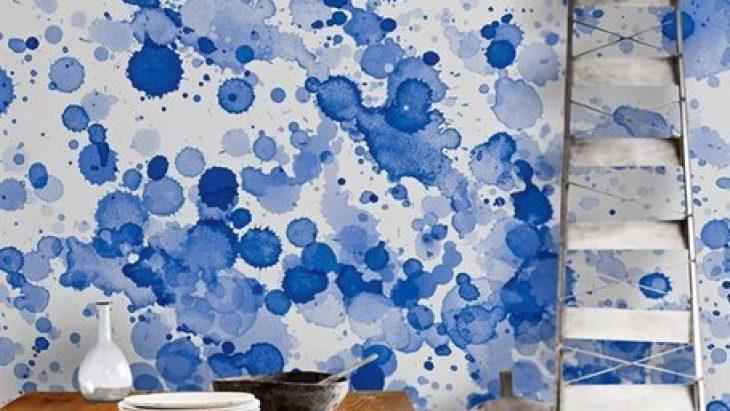 Sulu Boya Desenleri Odalarınızın Havasını Değiştirecek