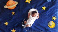 Annesinin Minik Bebeği için Yaptığı Şirin mi Şirin Fotoğraf Çekimi